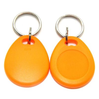 China Proximity LF RFID Key Fob Tag Keychain Read / Write For Hotel Door Mangement distributor